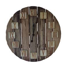 Woodland Retreat Collection Wooden Clock