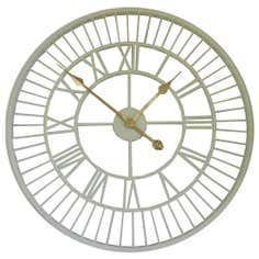 Cottage Roman Numerals Clock