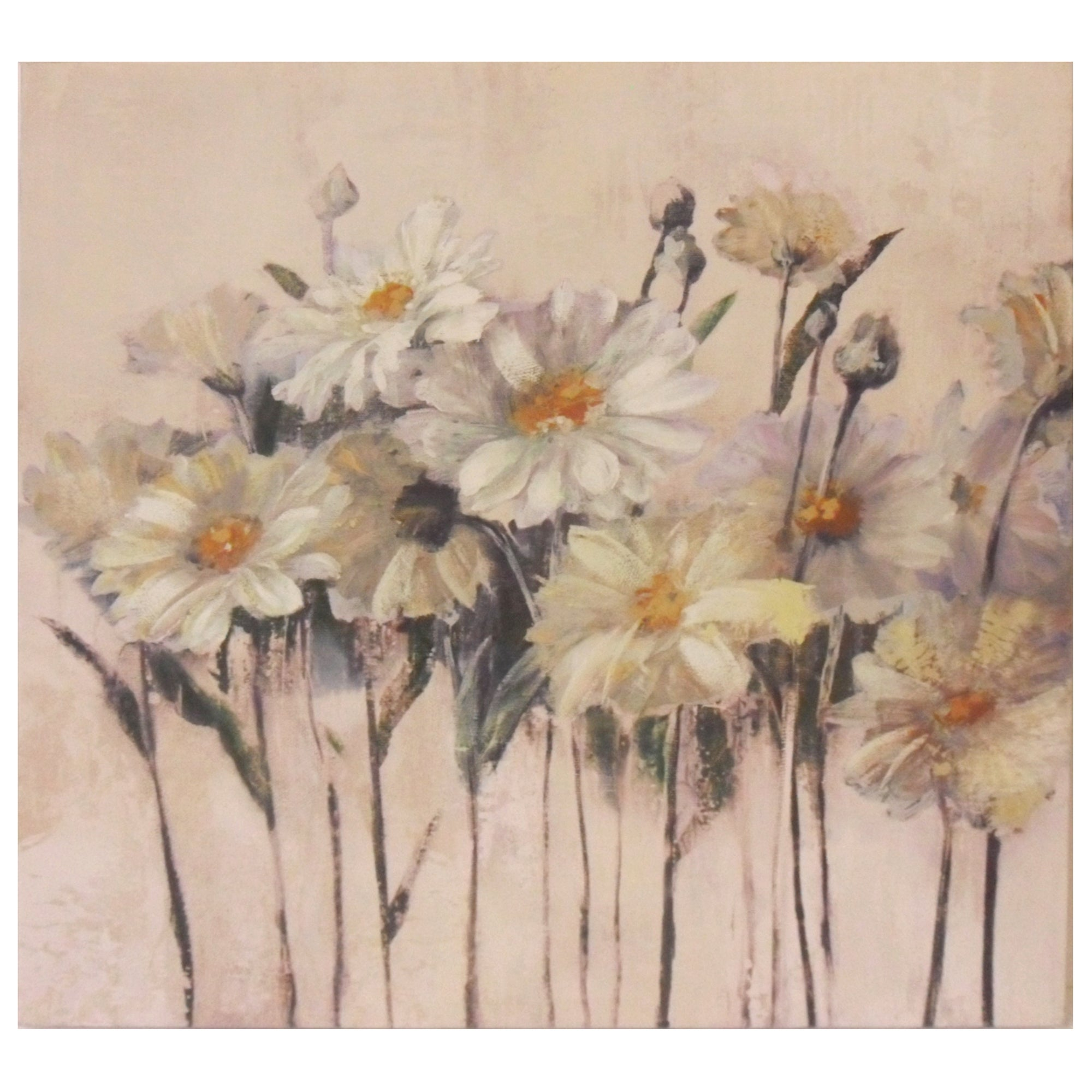 Daisies Printed Canvas