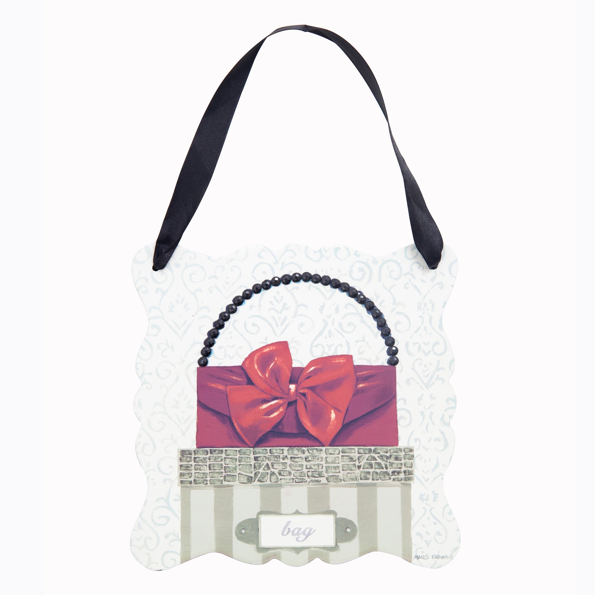 Handbag Plaque