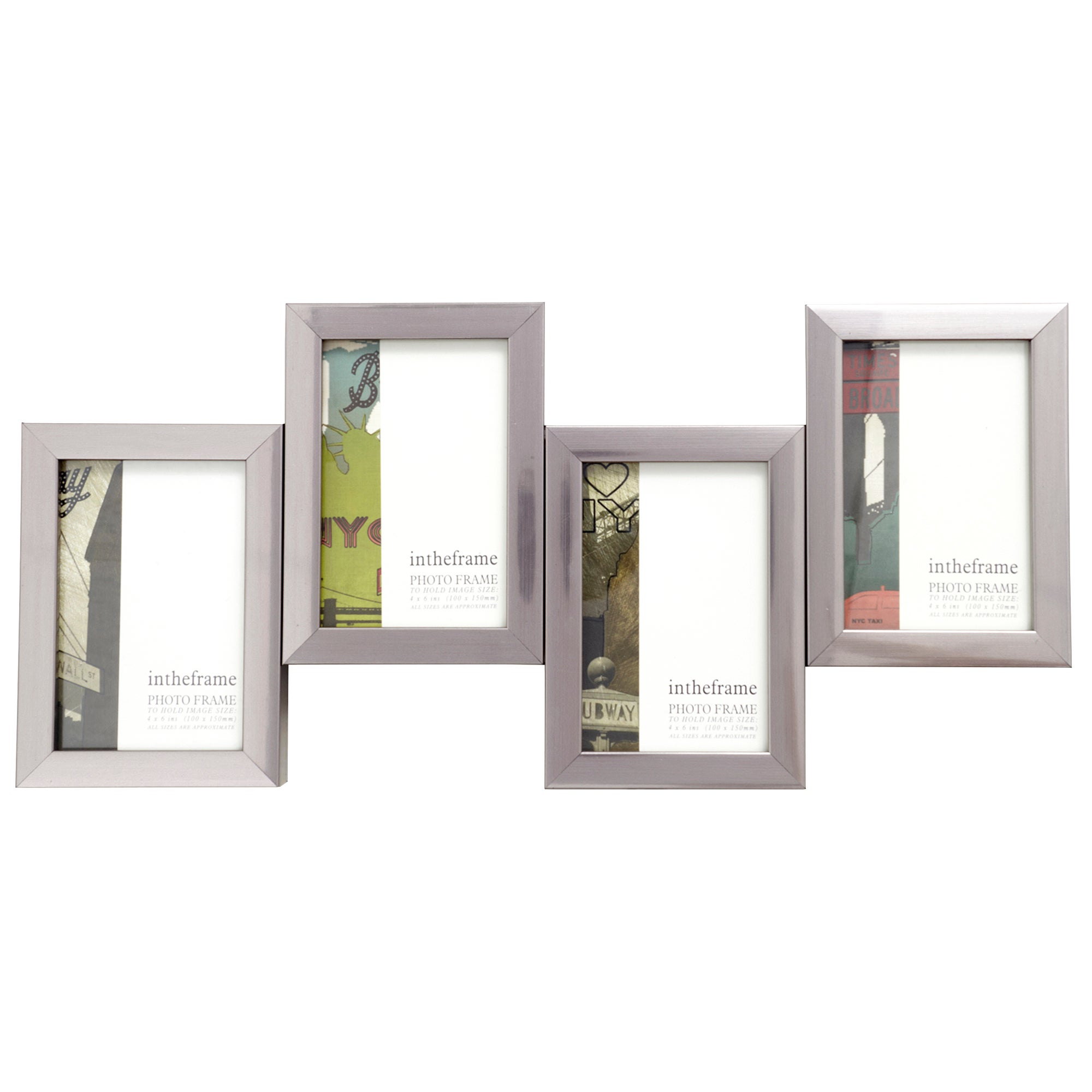 4 Aperture Jigsaw Photo Frame
