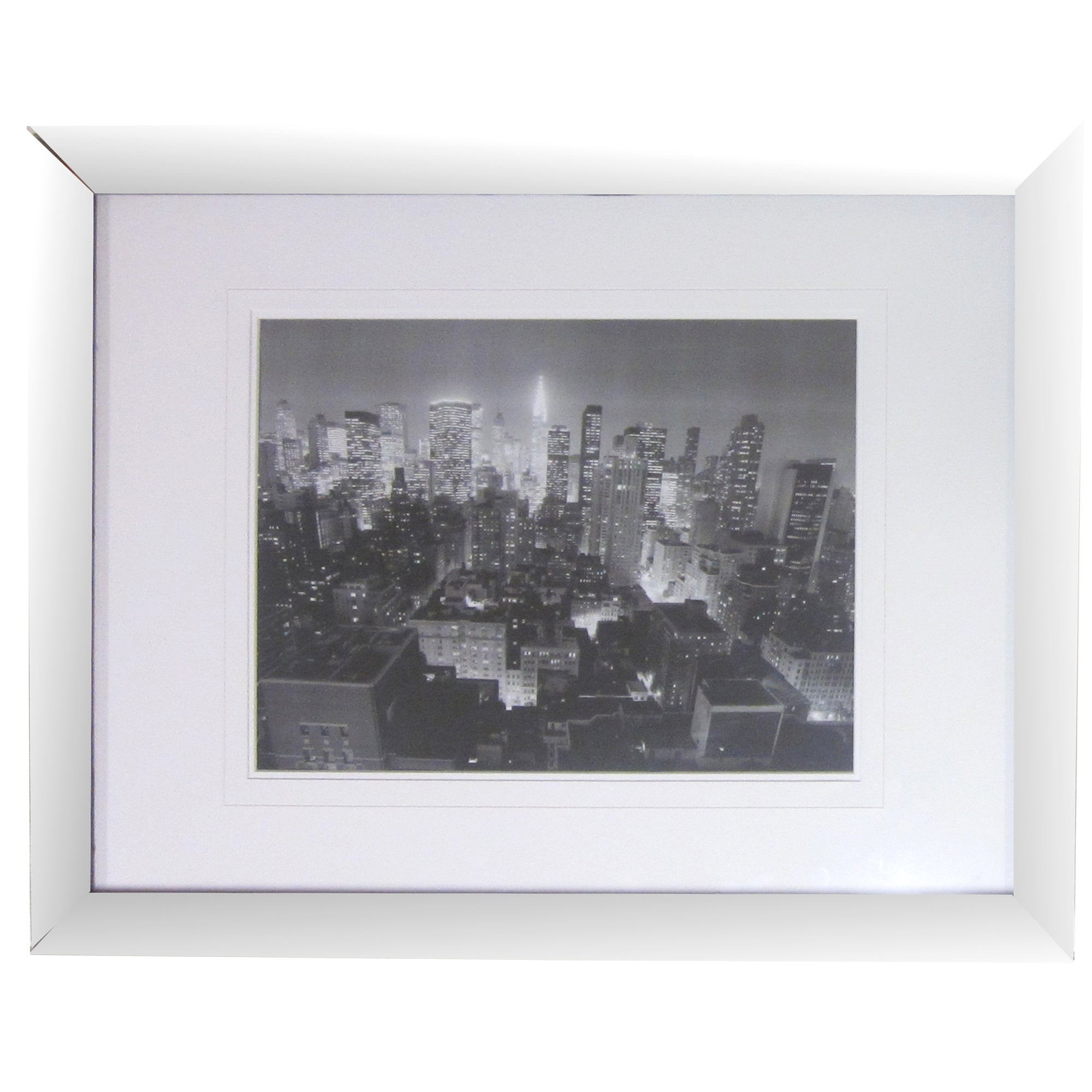 New York Black and White Framed Print