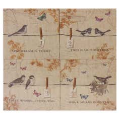 Birds Printed Canvas