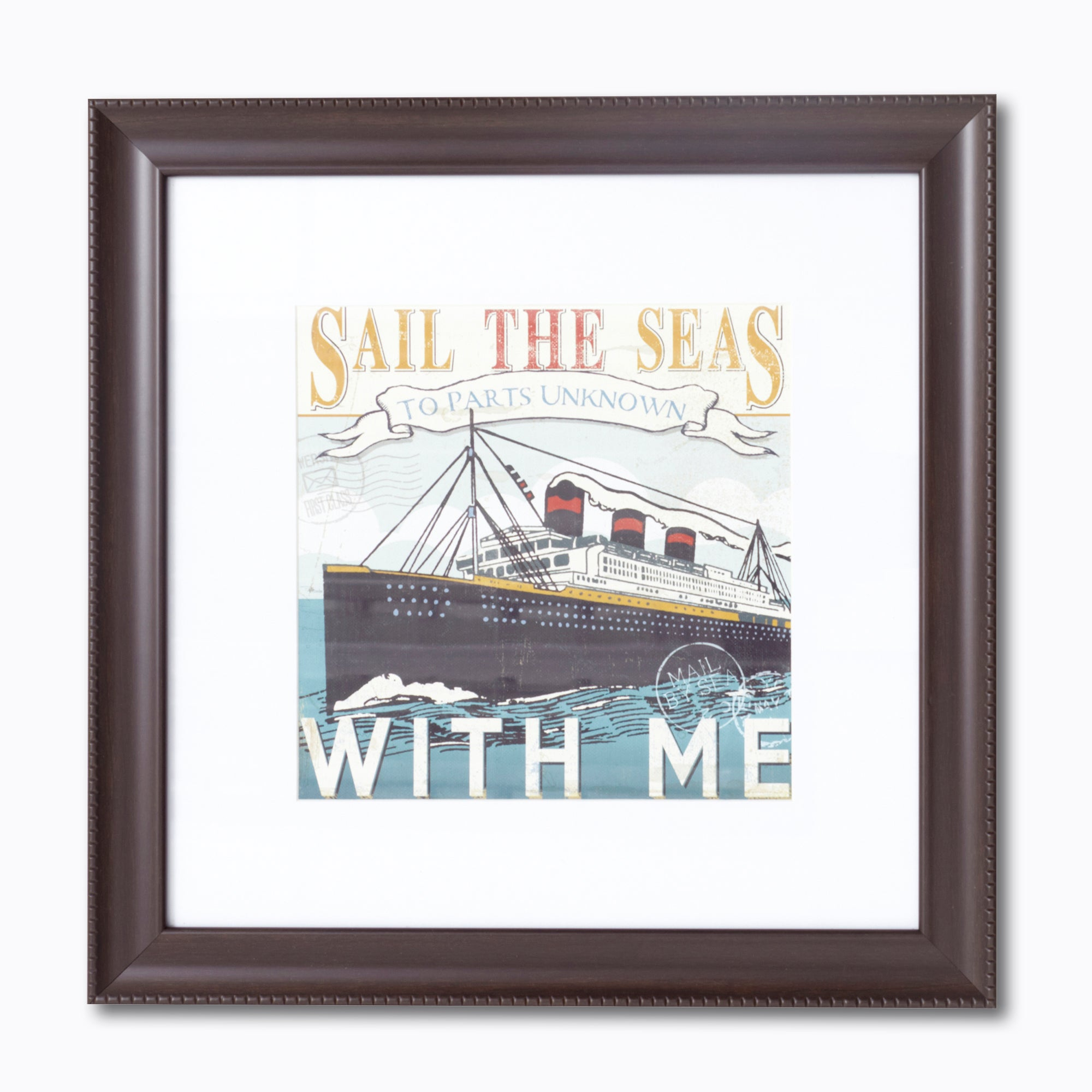 Sail The Seas Framed Print
