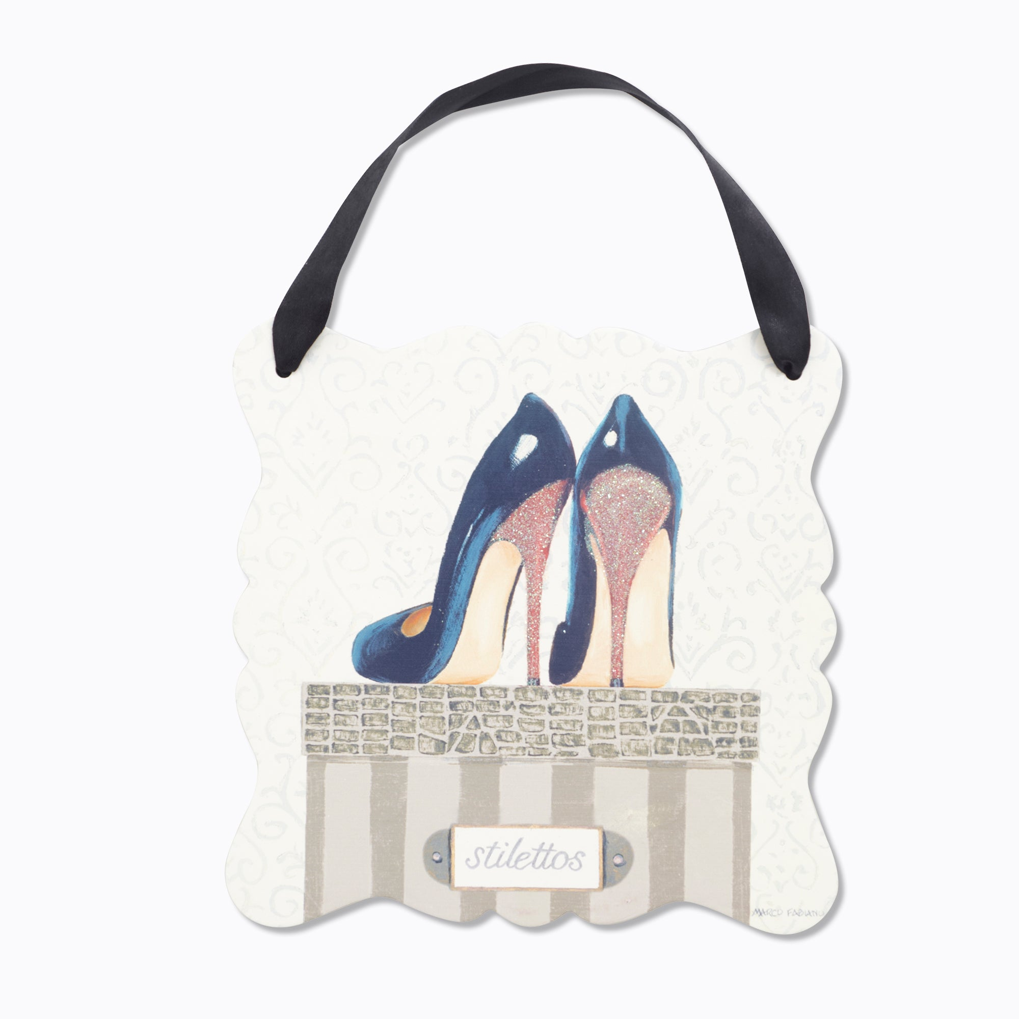 Hanging Shoes Plaque