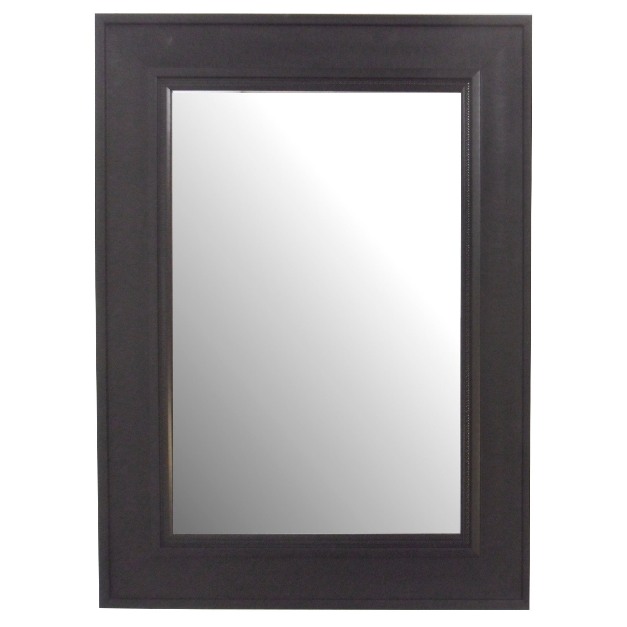 Black Textured Mirror