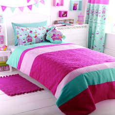 Kids Turquoise Birdcage Collection Bedspread