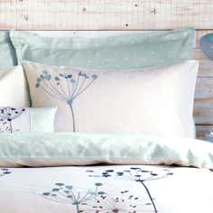 Duck Egg Cow Parsley Collection Housewife Pillowcase