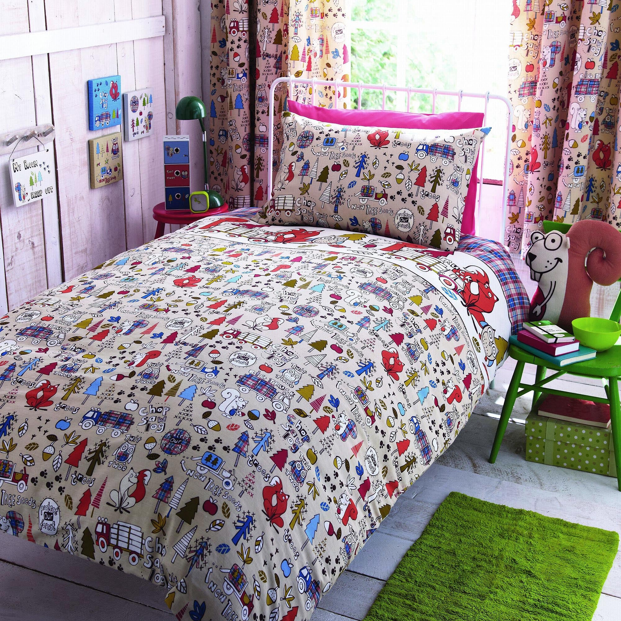 Kids Cyril & Chums Collection Duvet Cover Set