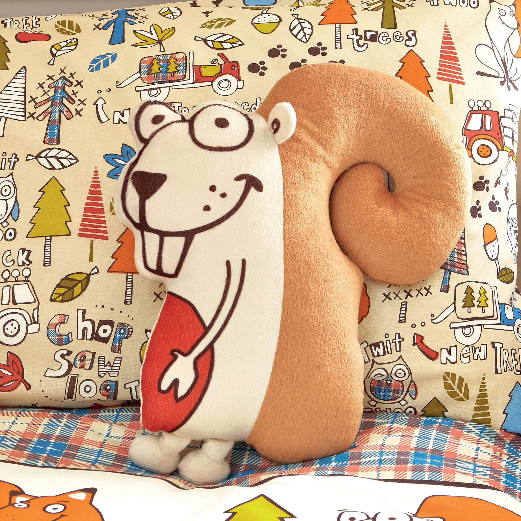 Kids Cyril & Chums Collection 3D Cushion