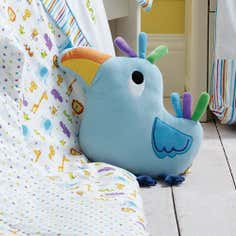 Kids Jungle Time Collection 3D Bird Cushion