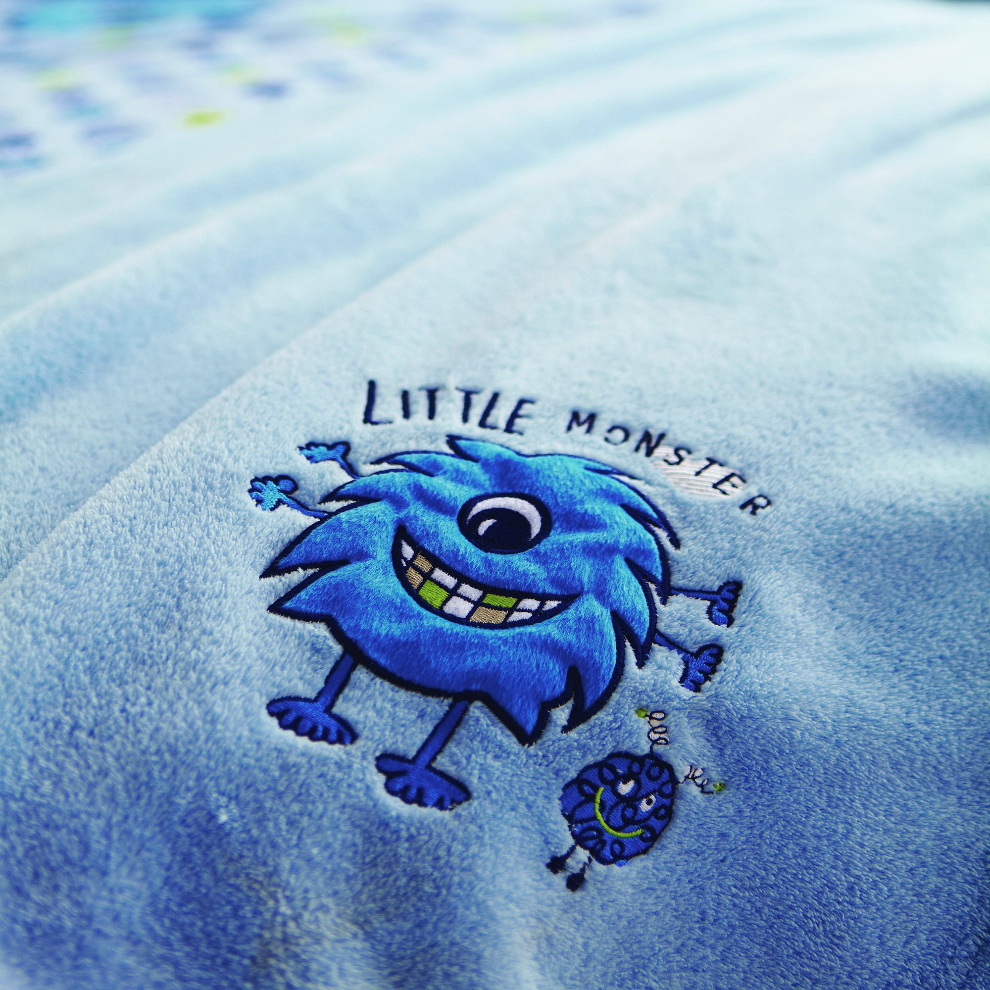 Kids Little Monster Collection Throw
