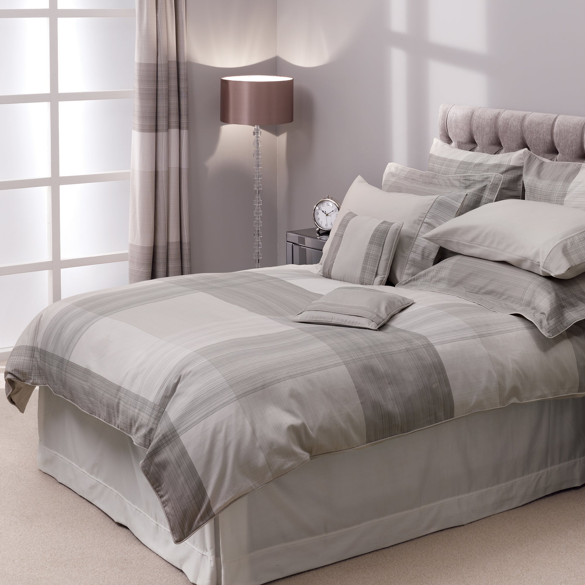 Grey Hotel Cannes Collection Duvet Cover