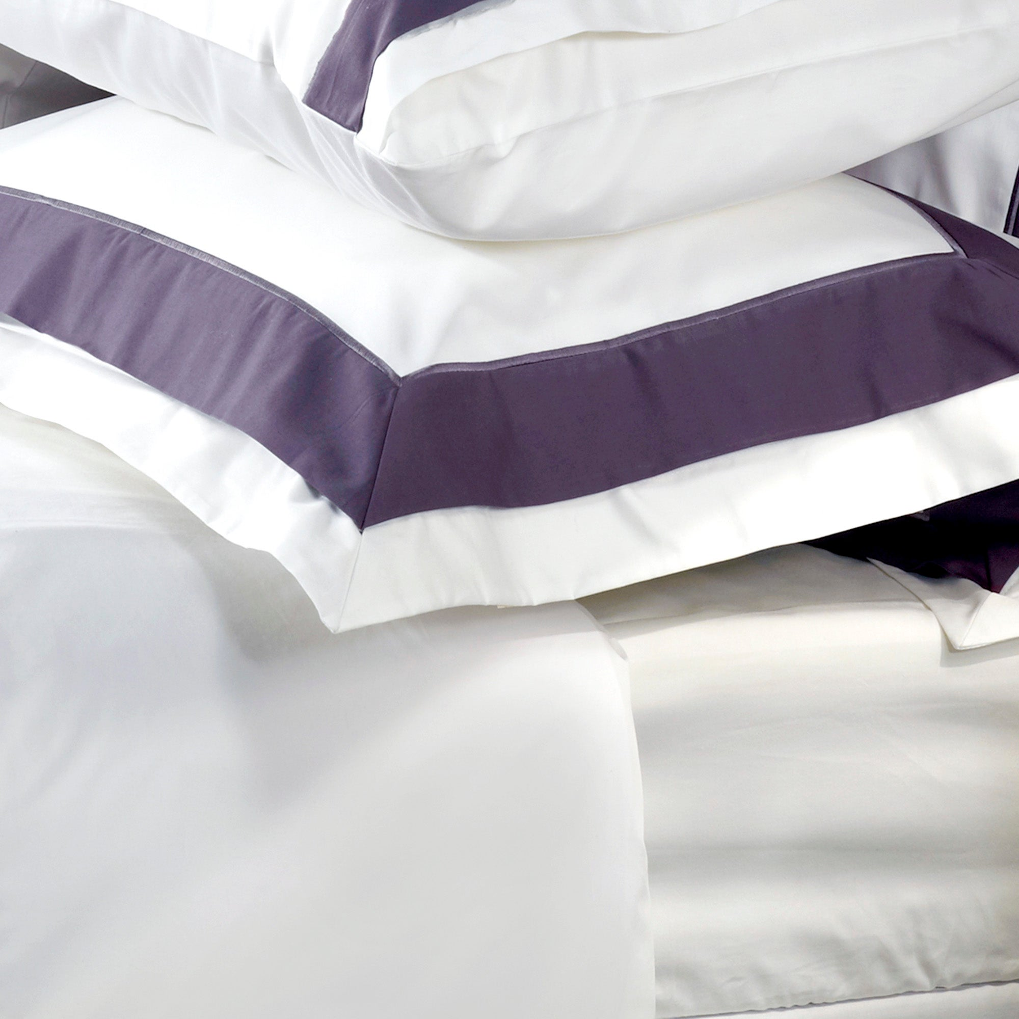 Grey Hotel Hampton Collection Oxford Pillowcase