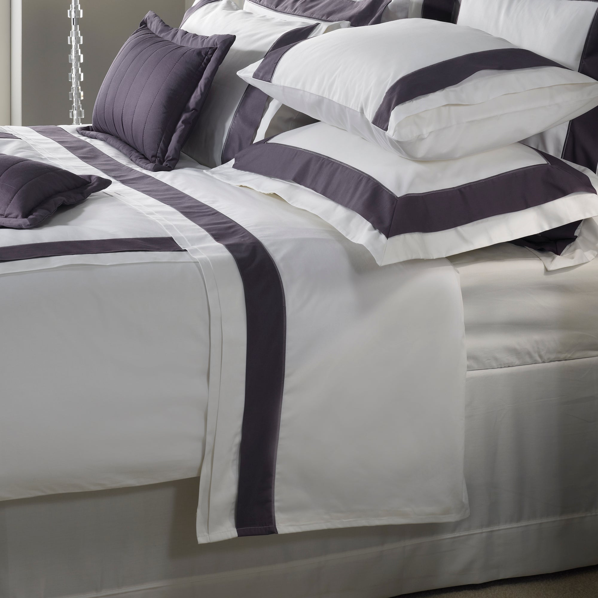 Grey Hotel Hampton Collection Flat Sheet