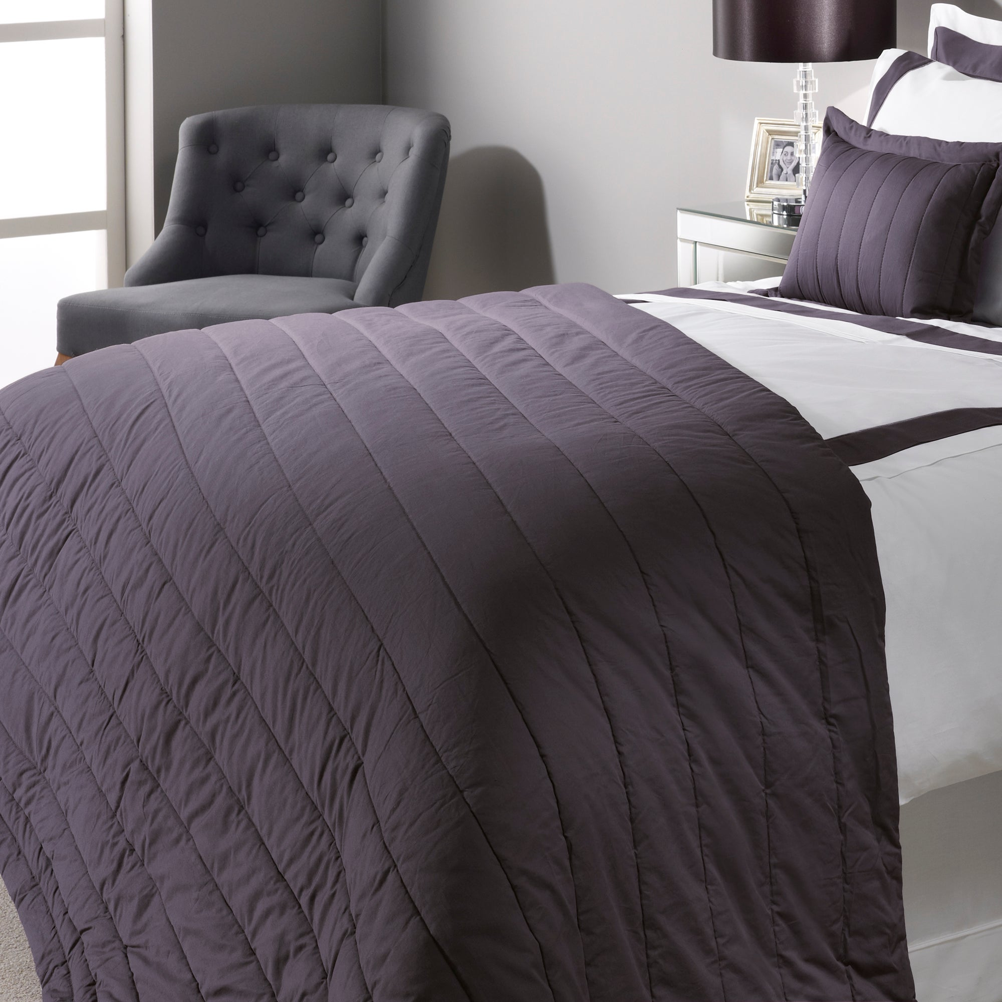 Grey Hotel Hampton Bedlinen Collection