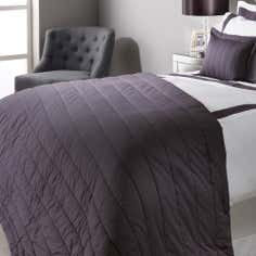 Grey Hotel Hampton Collection Throw