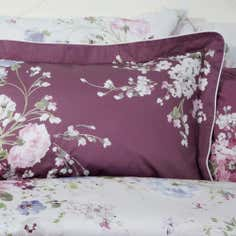 Dorma Purple Florence Collection Oxford Pillowcase