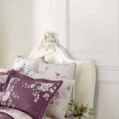 Dorma Purple Florence Collection Continental Pillowcase