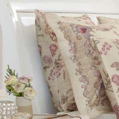 Dorma Plum Marseille Collection Continental Pillowcase