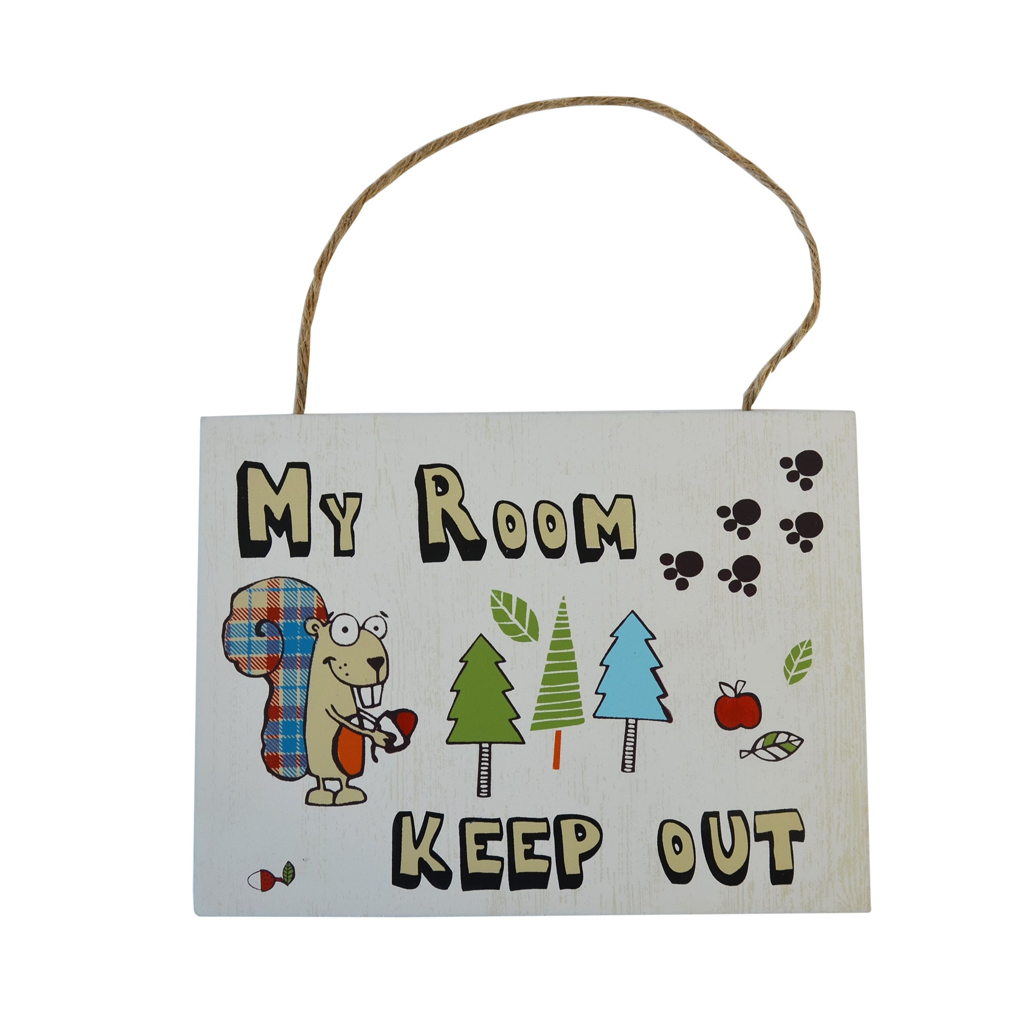 Kids Cyril & Chums Collection Hanging Plaque