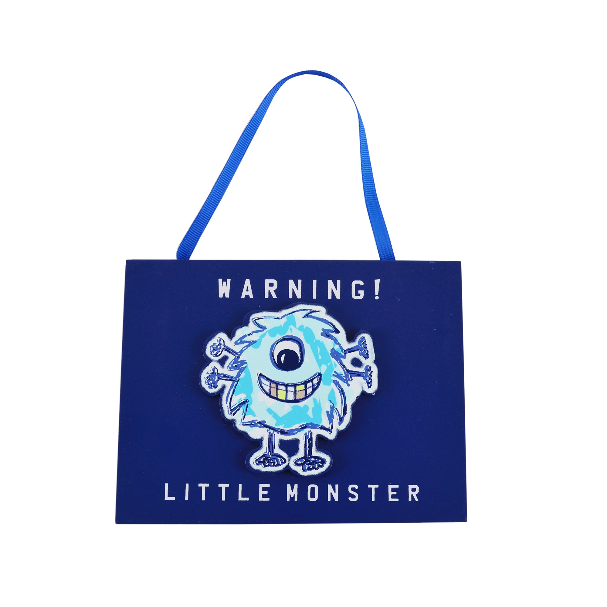 Kids Little Monster Collection Hanging Plaque
