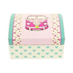 Kids Union Jack Camper Van Collection Jewellery Box