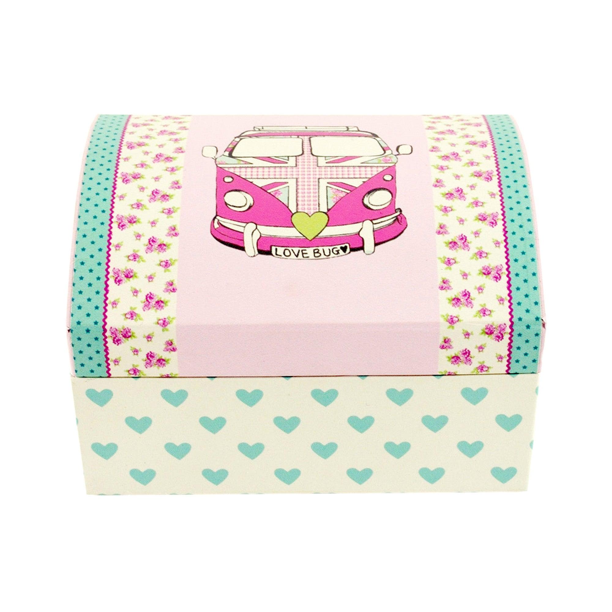 Kids Union Jack Camper Van Collection Jewellery Box