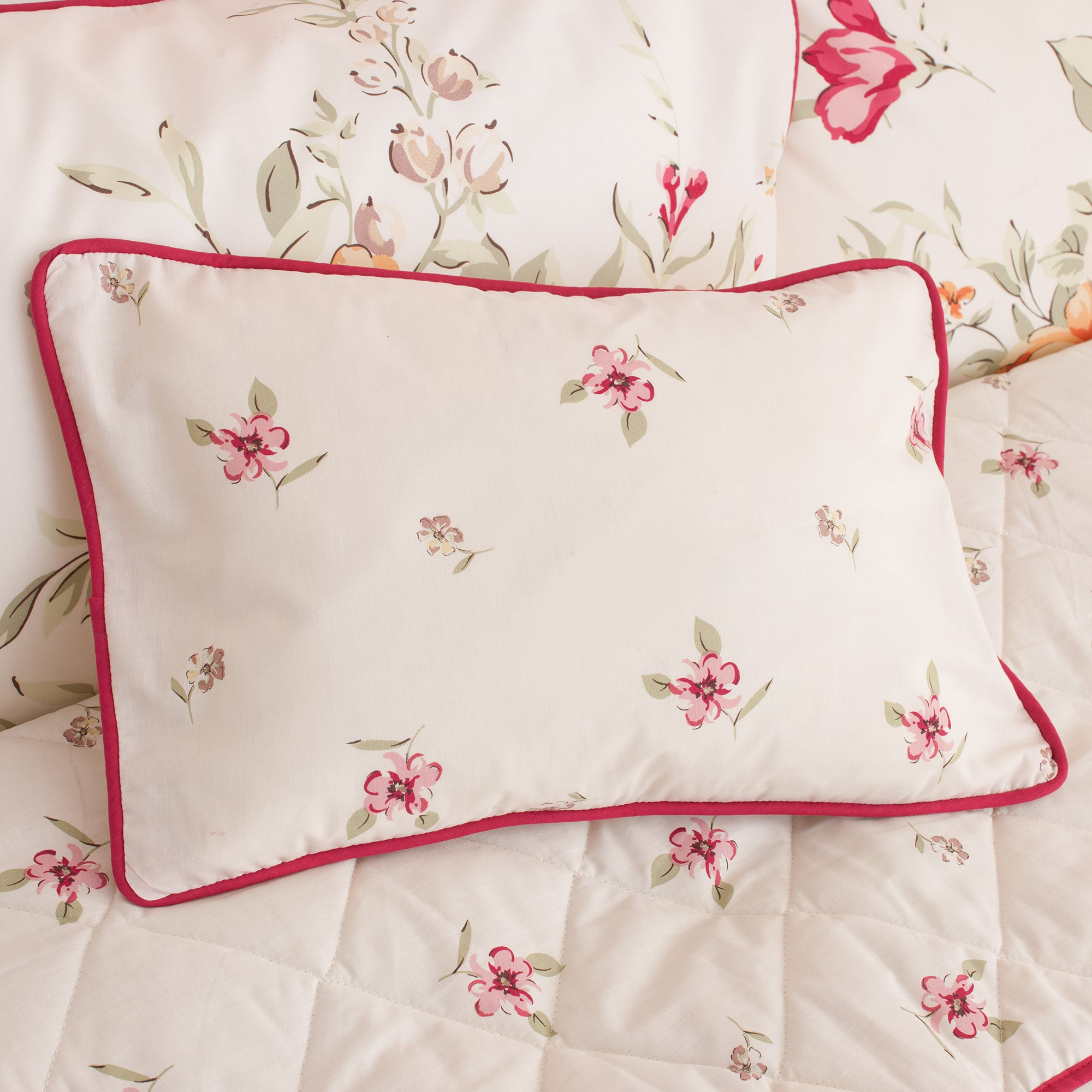 Pink Darcy Collection Boudoir Cushion