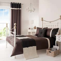 Chocolate Lisbon Collection Duvet Cover