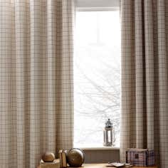 Cream Alcott Thermal Eyelet Curtains