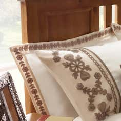 Latte Arabella Collections Oxford Pillowcase