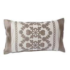 Latte Arabella Collection Boudoir Cushion