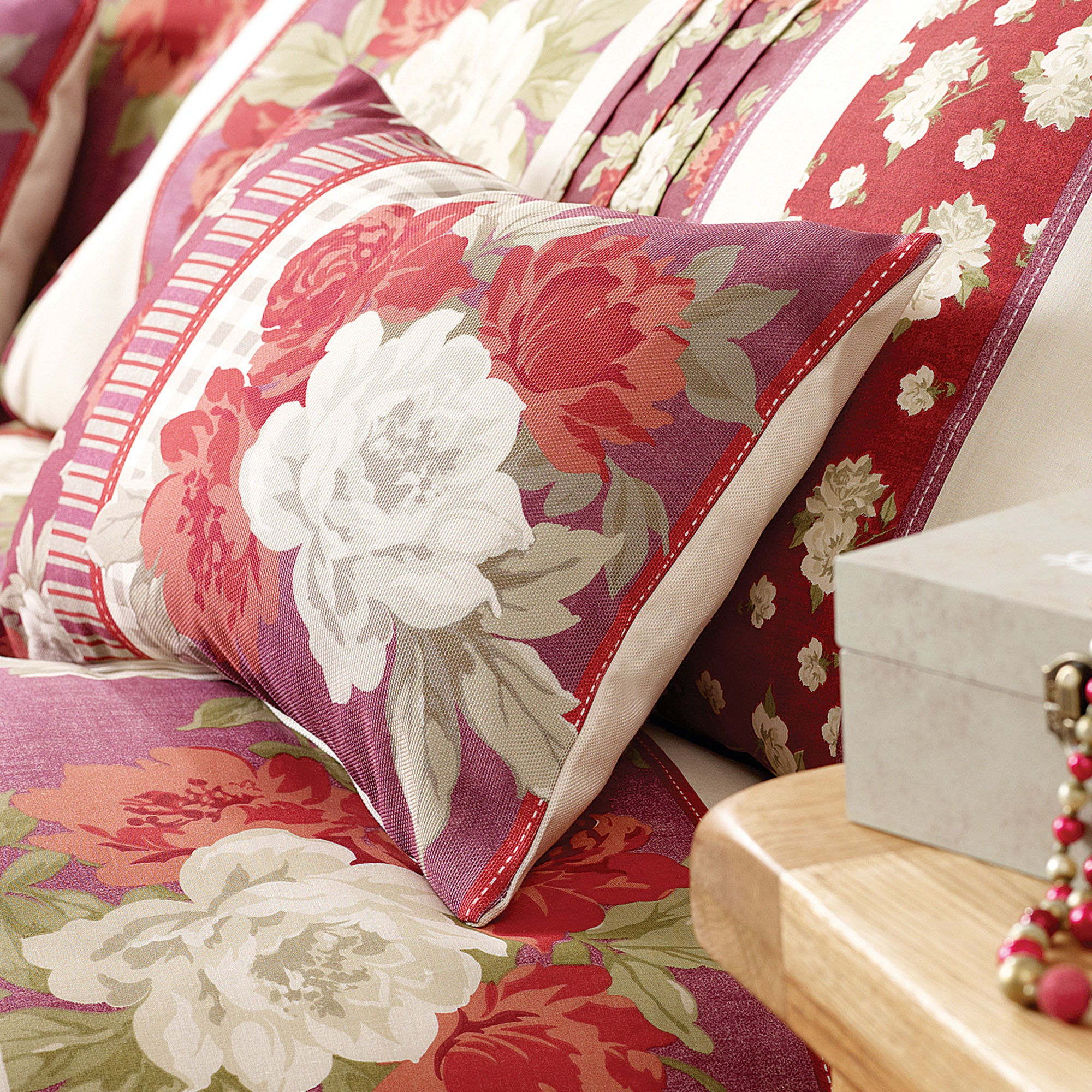 Rose Aurelia Collection Boudoir Cushion