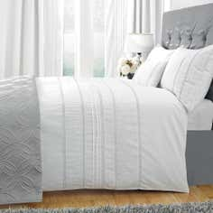 White Evangeline Collection Duvet Cover