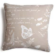 Latte Nostalgic Bluebird Collection Cushion