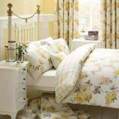 Lemon Windermere Collection Duvet Cover Set