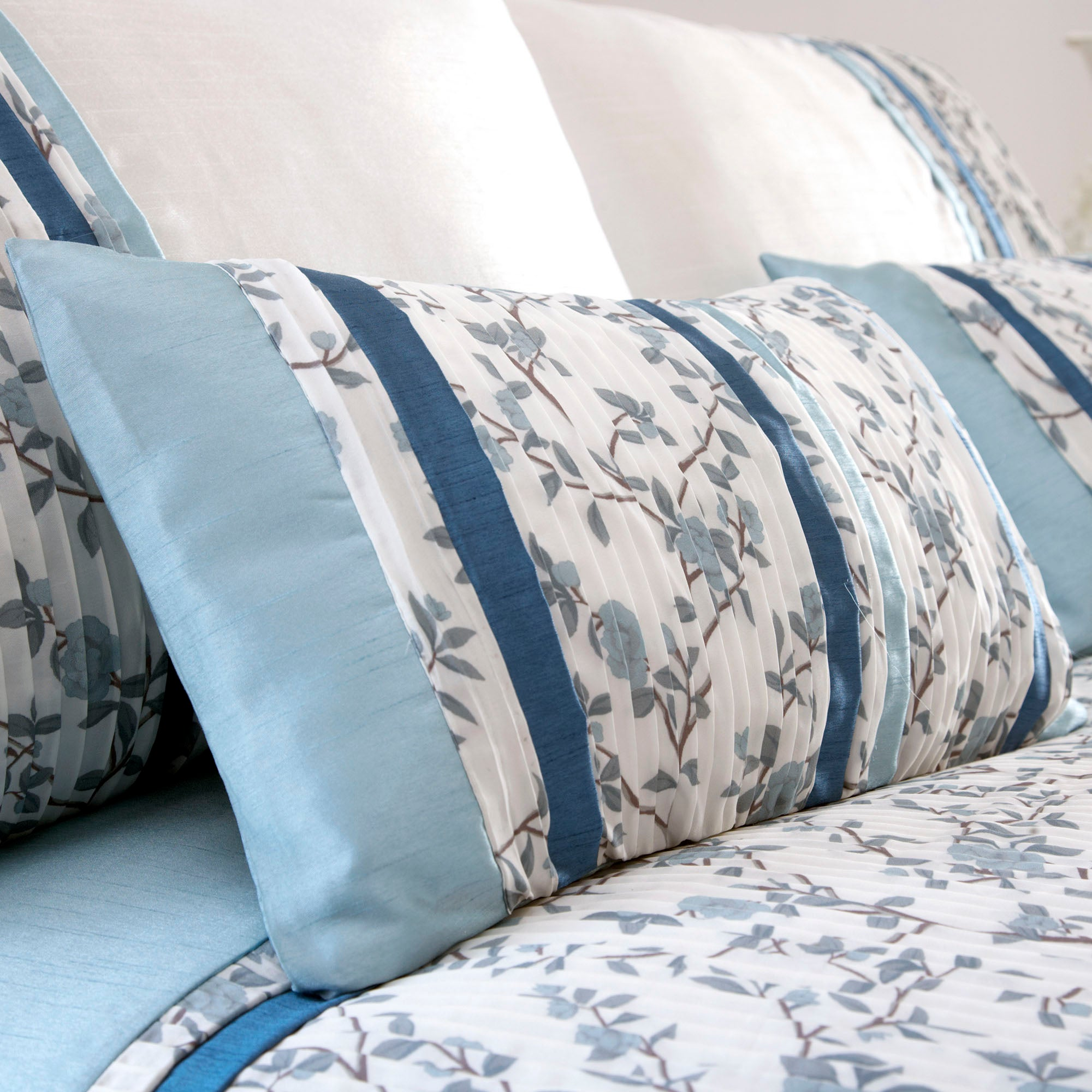 Blue Chinoiserie Collection Boudoir Cushion