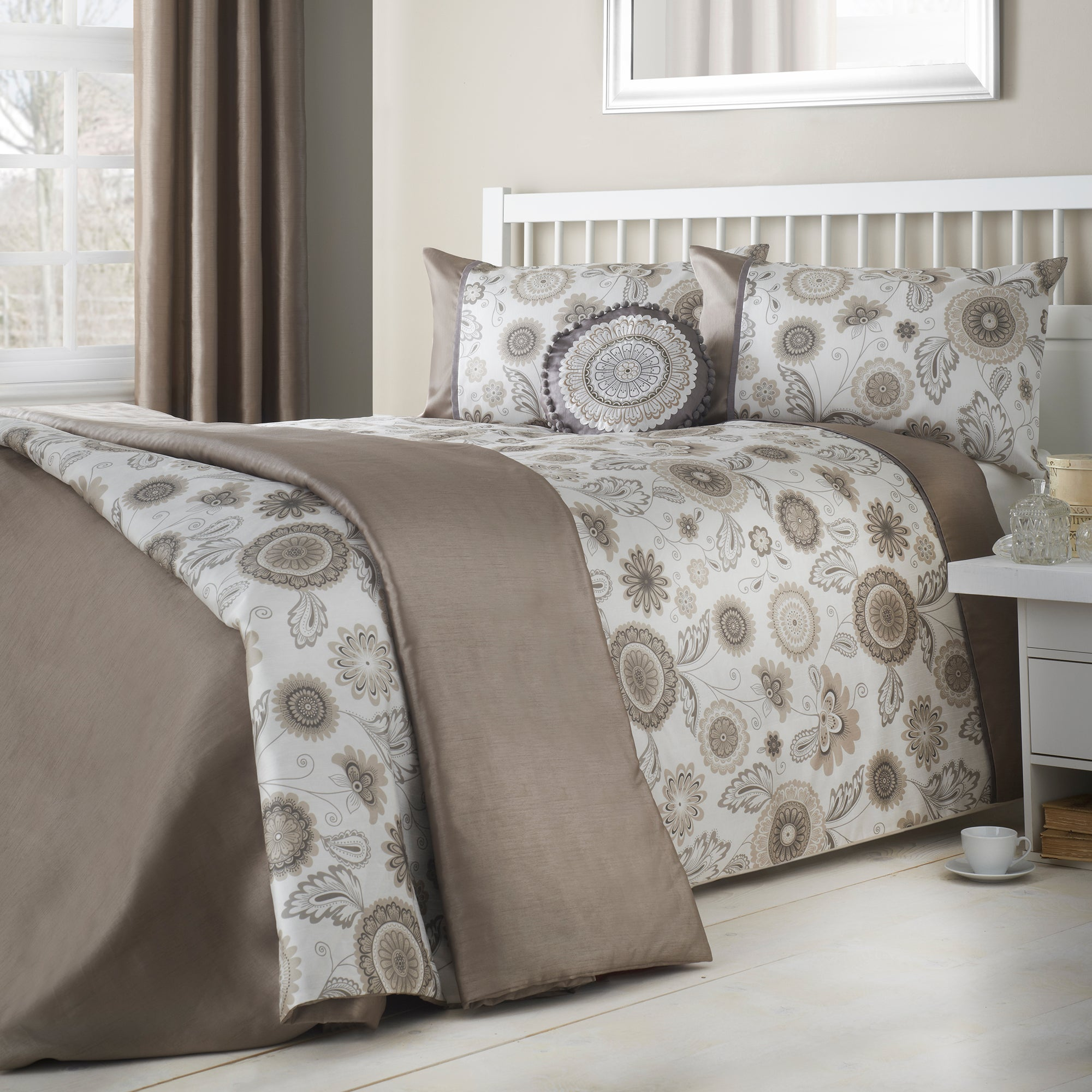 Natural Folk Floral Bedlinen Collection