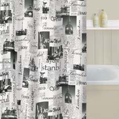 Passport Shower Curtain
