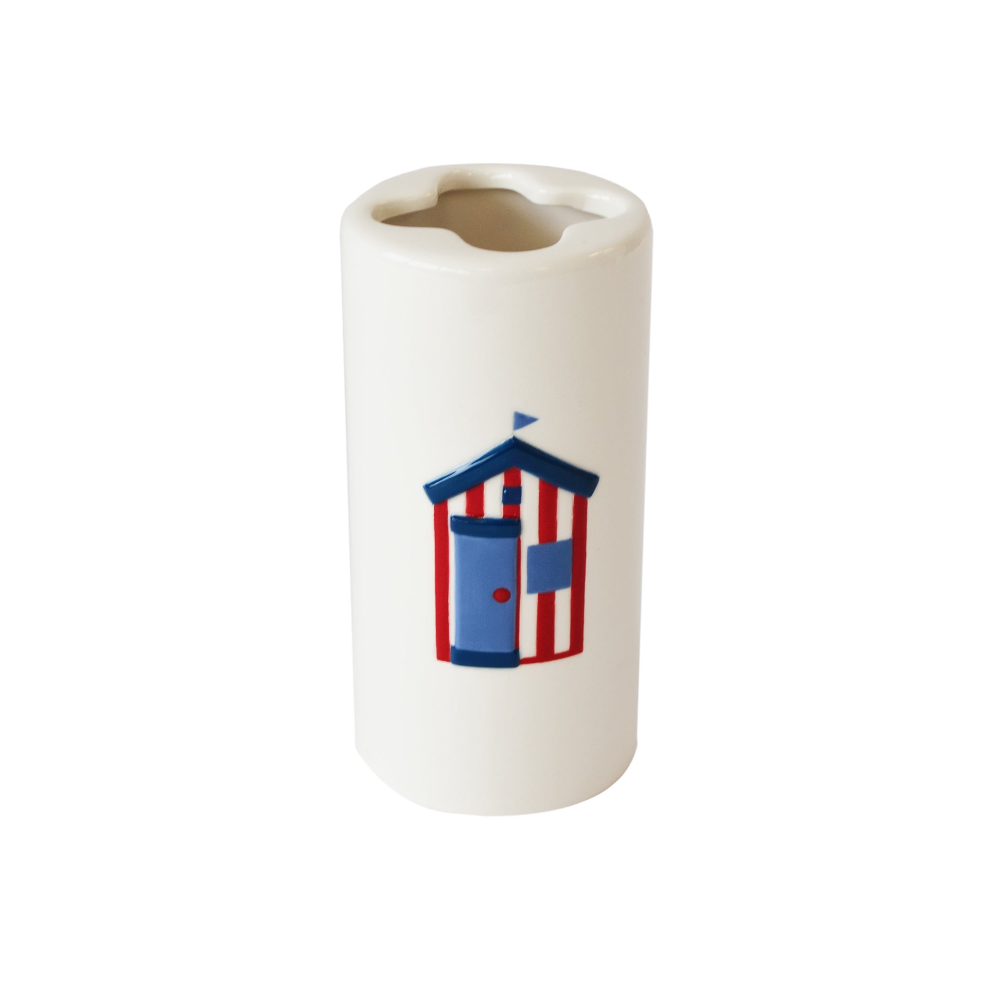 Beach Hut Collection Toothbrush Holder