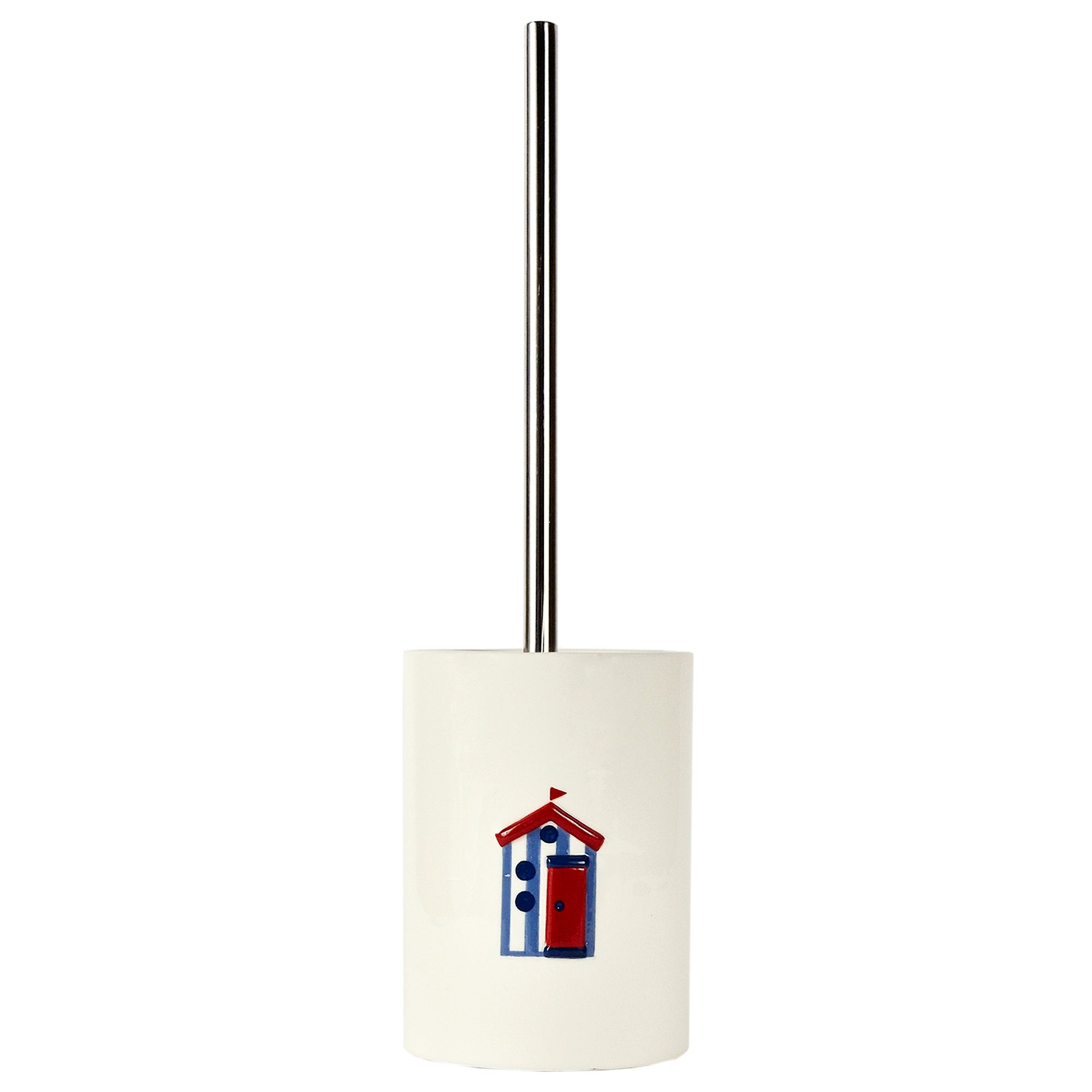 Beach Hut Collection Toilet Brush Holder