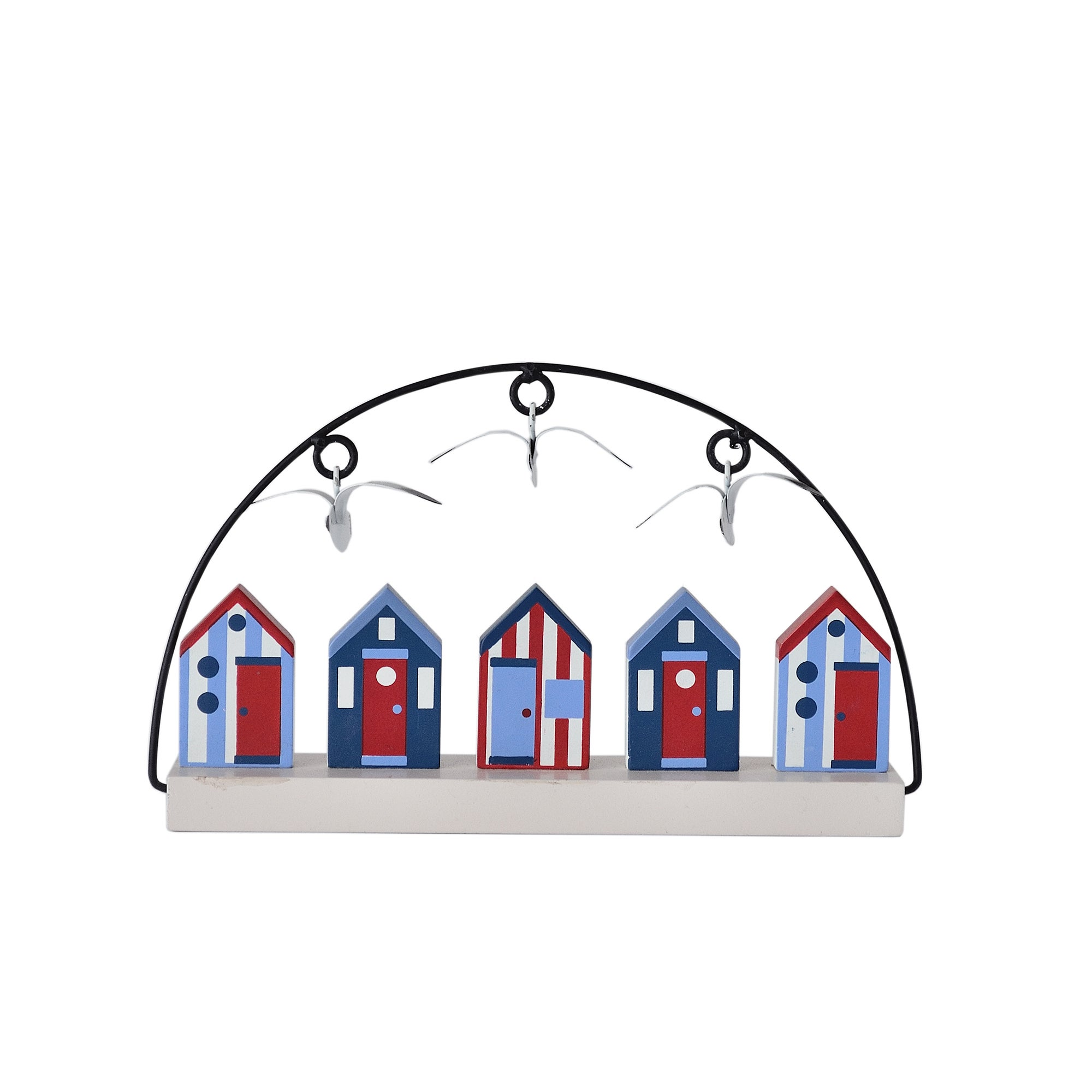 Beach Hut Collection Hand Painted Beach Huts