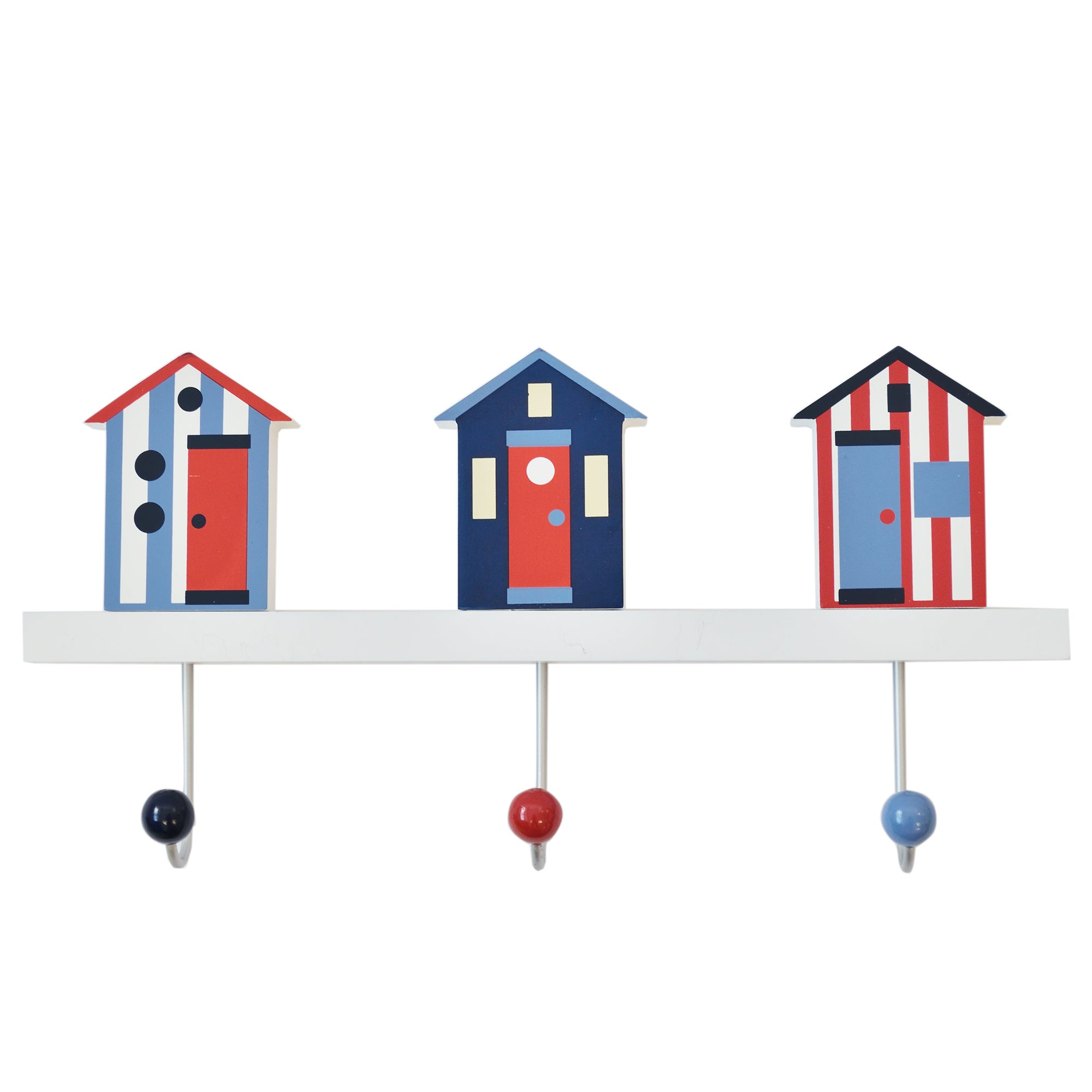Beach Hut Collection Wall Hooks