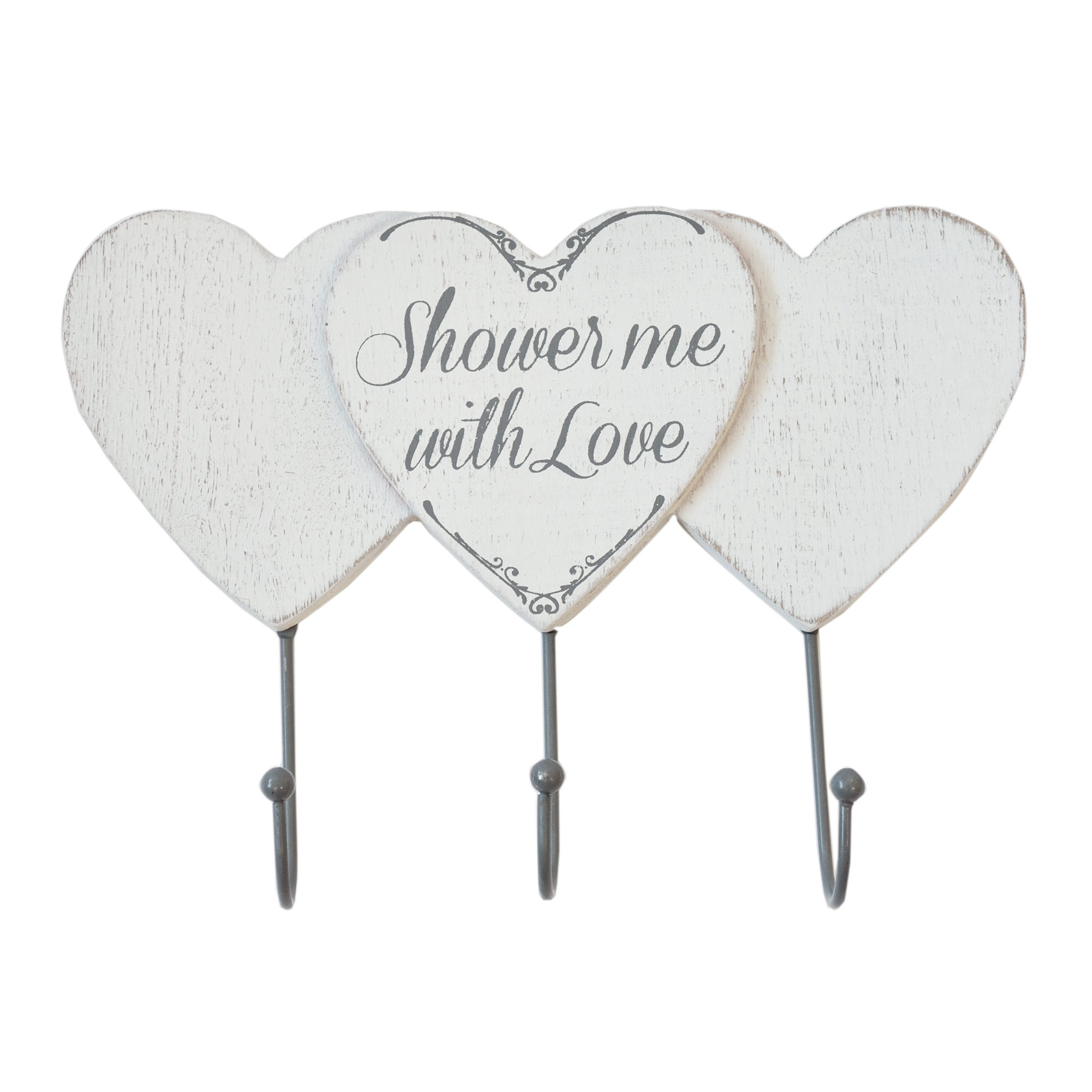 Shower Me With Love Triple Wall Hook