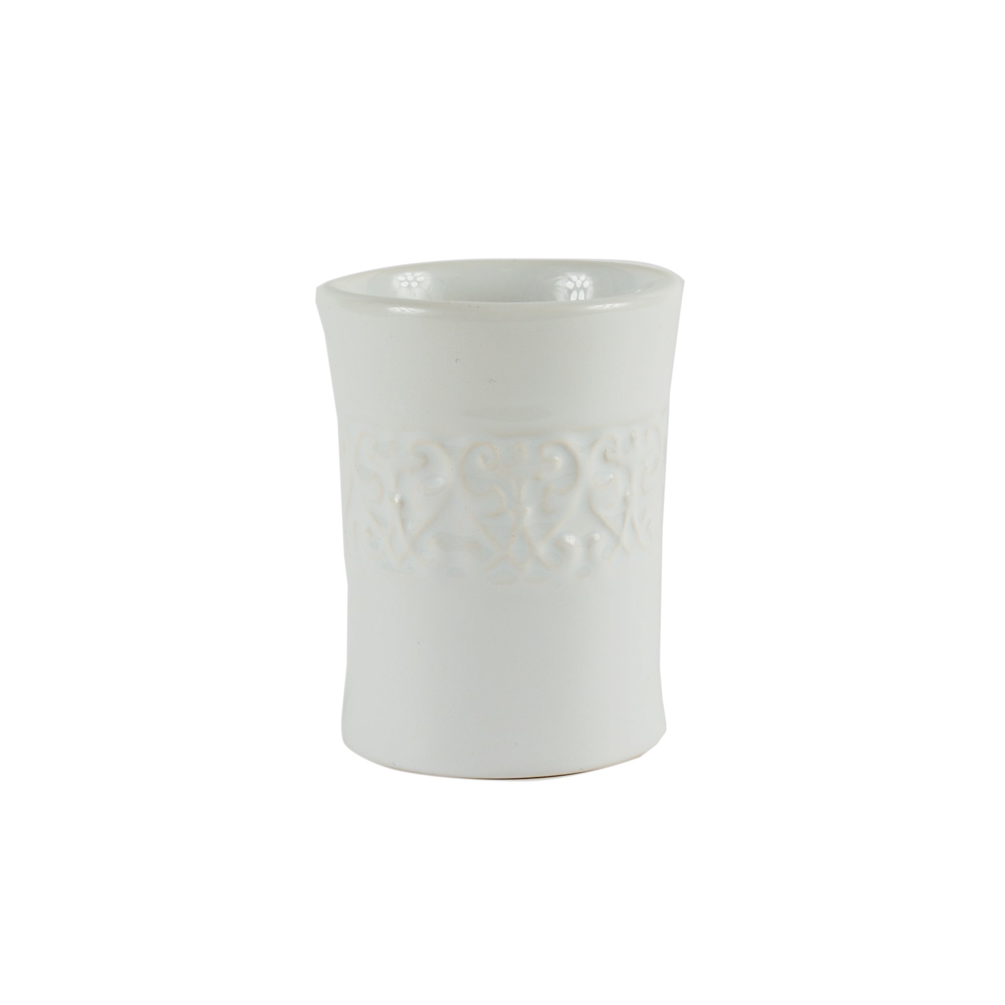 Embossed Swirl Collection Tumbler