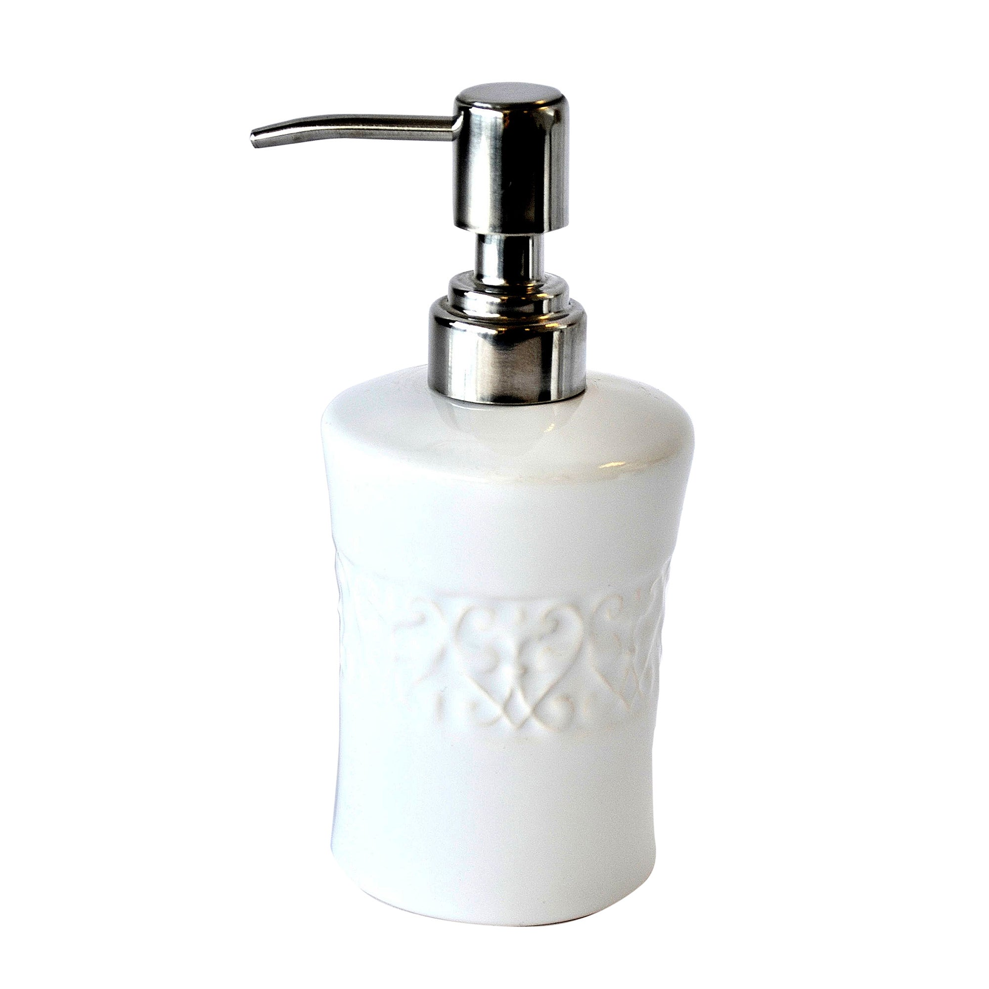 Embossed Swirl Collection Lotion Dispenser