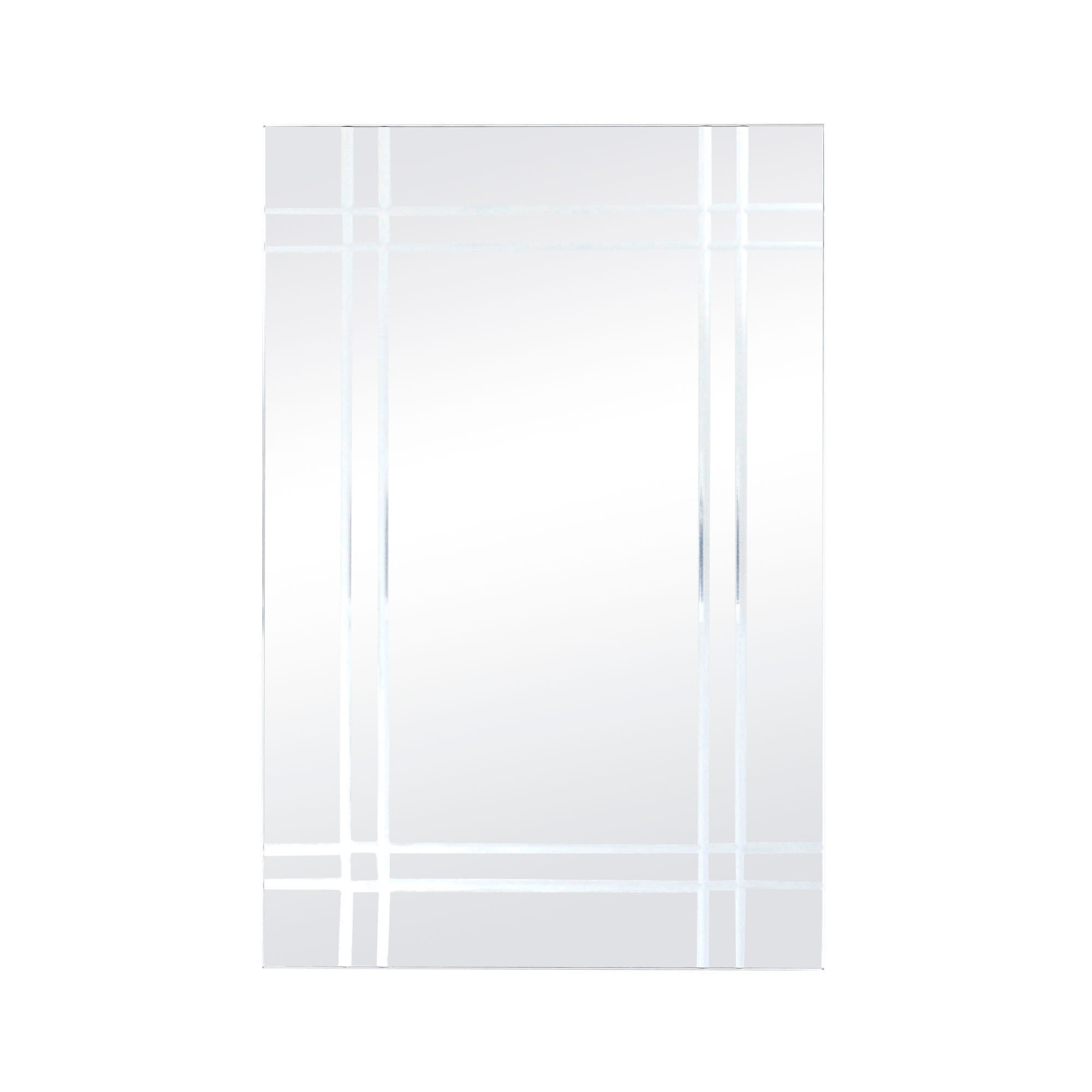 V Grooved Mirror