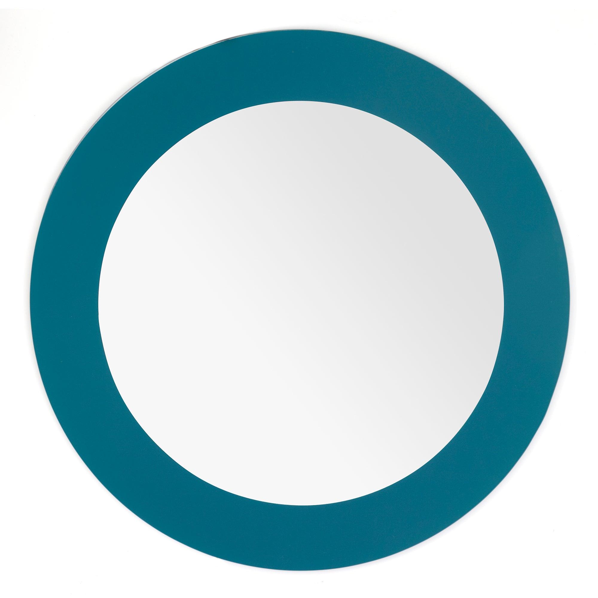 Block Band Circular Mirror