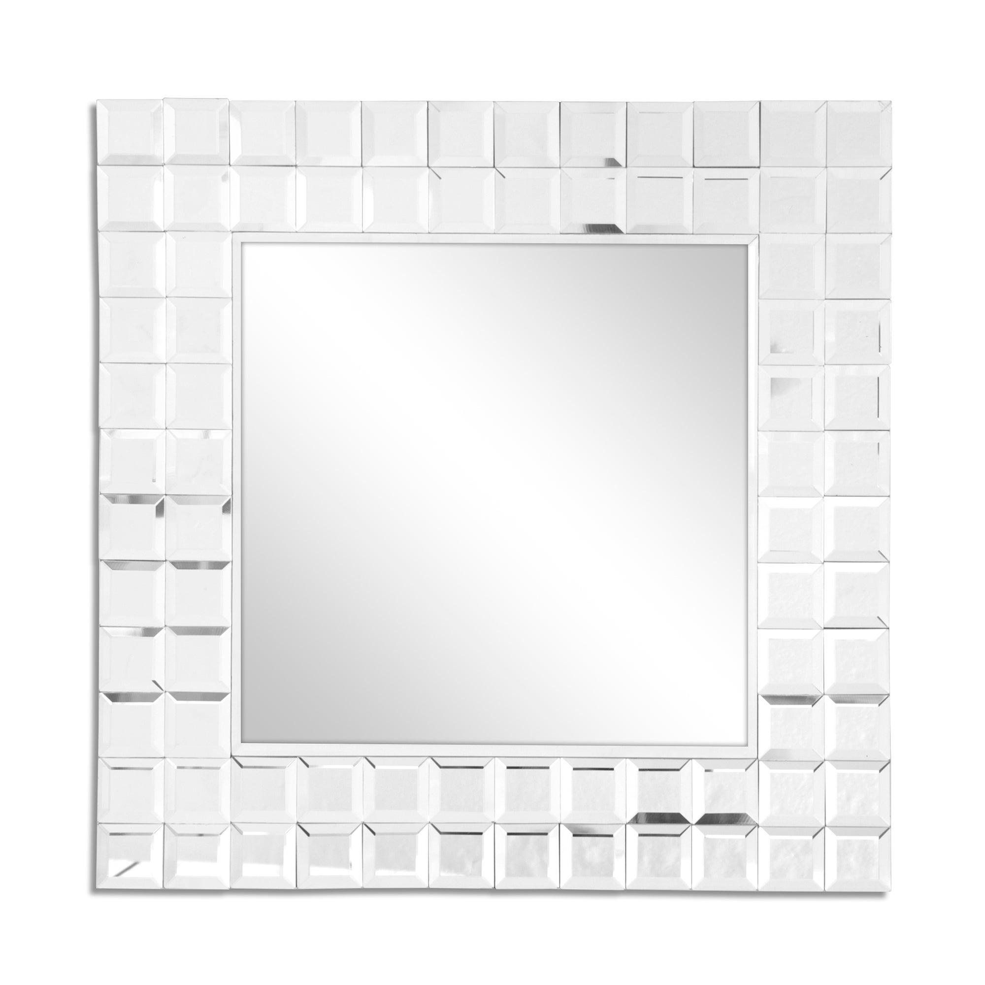 Clear Mosaic Mirror